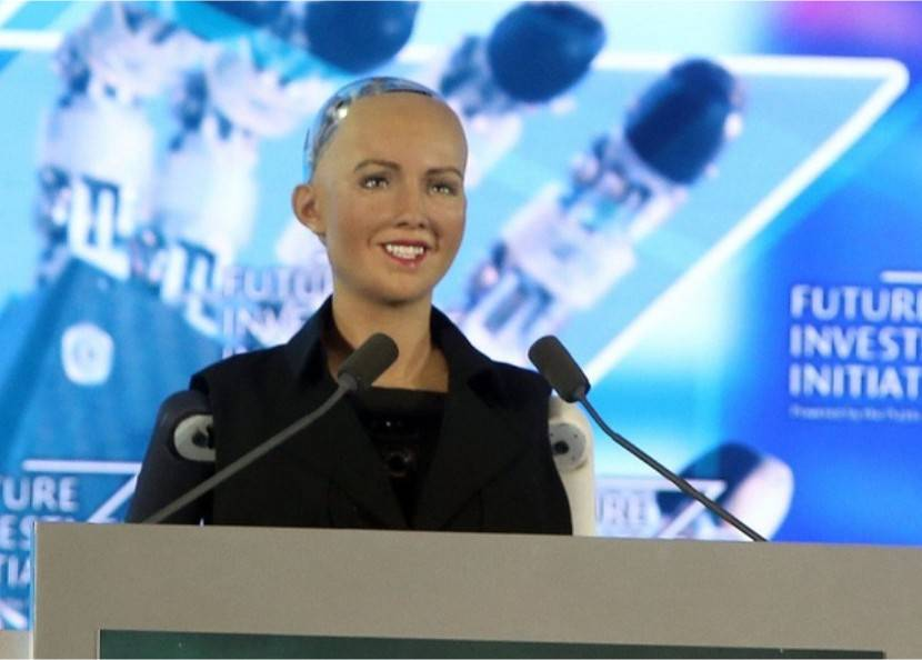 Robot Citizen Sophia
