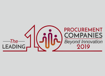 The leading 10 Procurement Companies Beyond Innovation, 2019