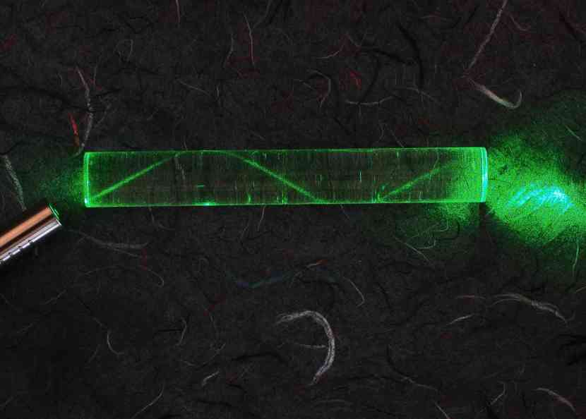 10-petawatt Laser Vaporizing Matter